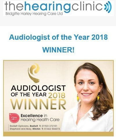 Audiologist of the Year 2018