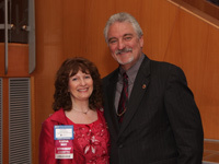 Tina with Dr Ivan Misner founder of BNI